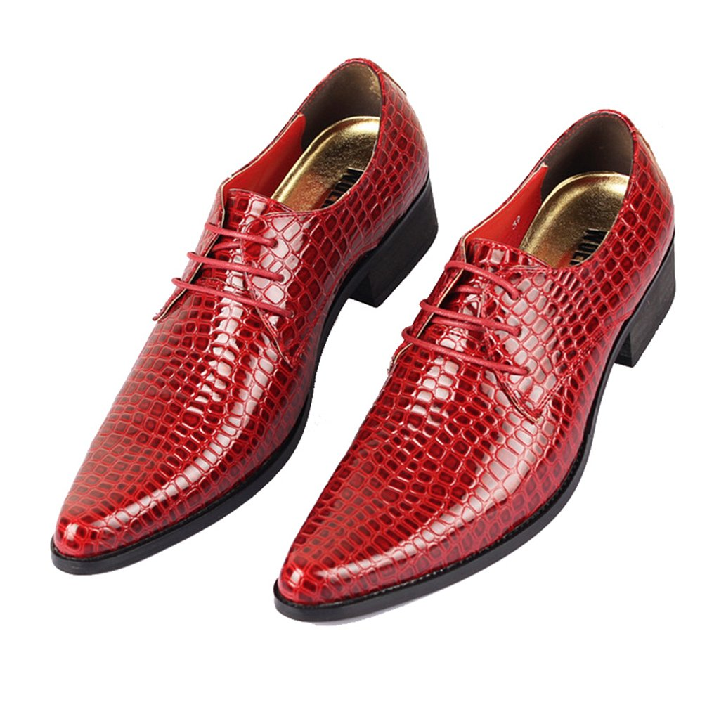 Phil Betty Mens Oxfords Shoes Flats Lace-Up Fashion Casual Formal Shoes by Phil Betty (Image #5)