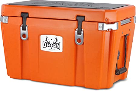 35 Quart Orion Heavy Duty Premium Cooler Fishing Camping Bear Resistant Great for Hunting and Long Lasting Portable 35, Moss Durable Insulated Outdoor Ice Chest for Maximum Cold Retention