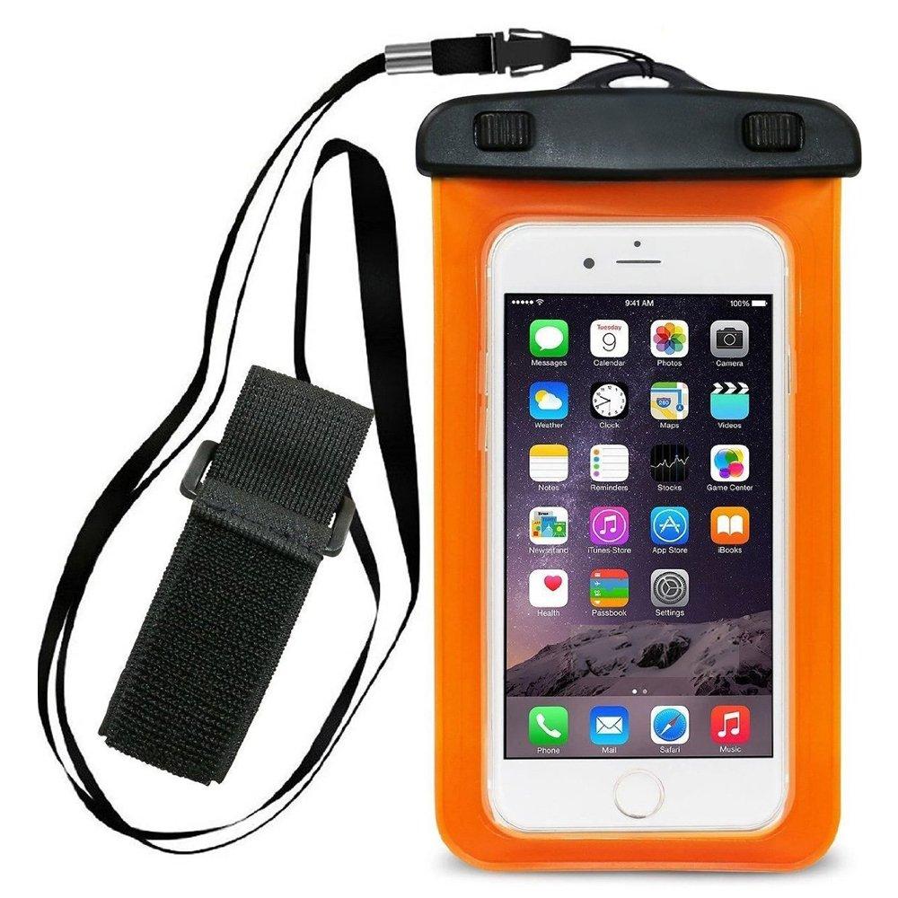 防水ケース、iStyleユニバーサル浮くUnderwaterポーチドライバッグアームバンドストラップ付きfor iPhone 6、6 Plus、6s、6s Plus、5、5s、SAMSUNG GALAXY s6 Up To 6