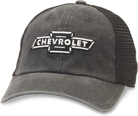 Chevrolet Herren Raglan Bones Snapback Mütze Schwarz Einheitsgröße Bekleidung