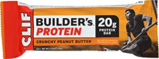 product image for Clif Builder's Protein Crunchy Peanut Butter (12 Count of 2.40 Oz Bars), 28.8 Oz