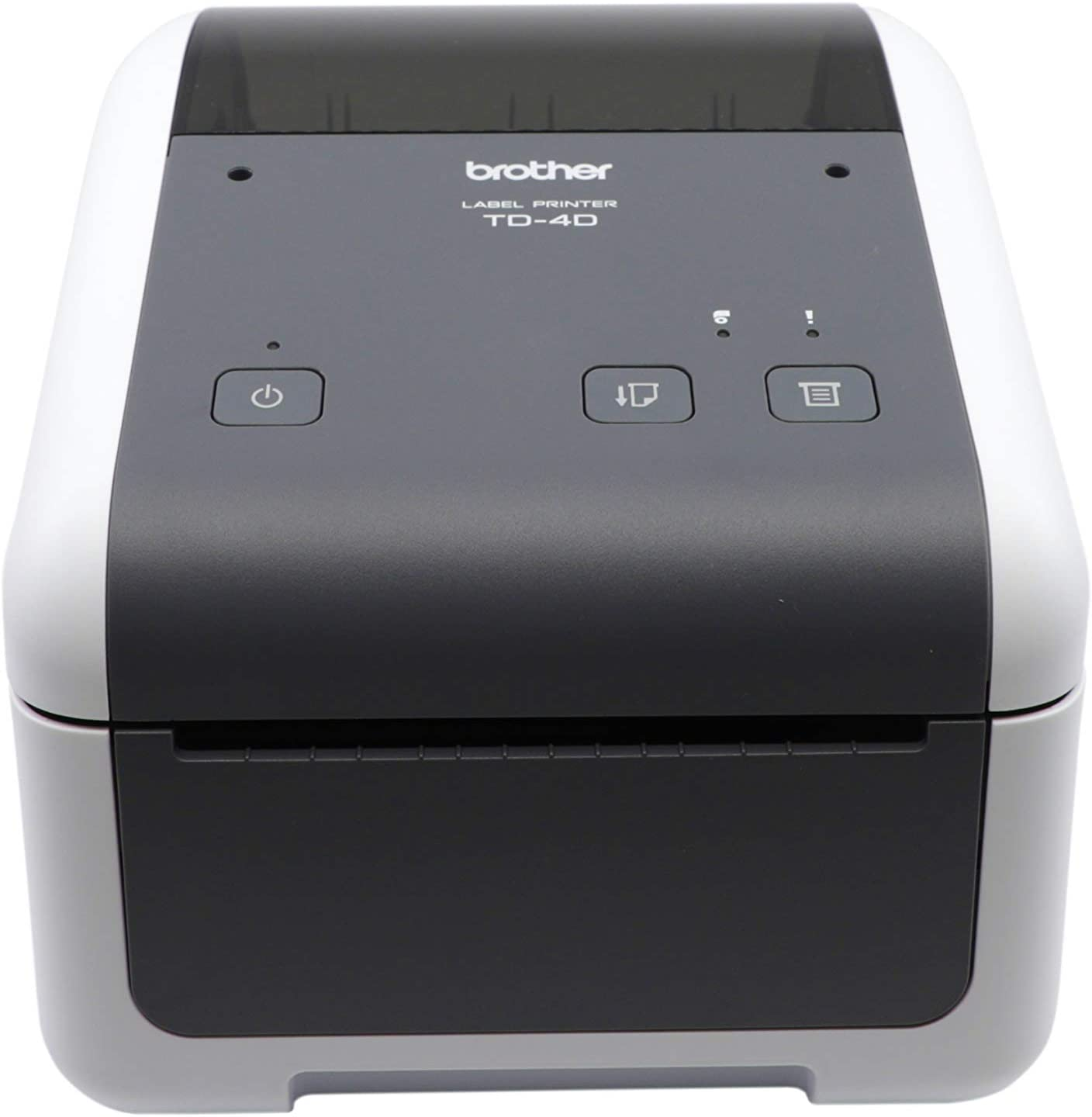 Brother TD4410D 4-inch Thermal Desktop Barcode and Label Printer, for Labels, Barcodes, Receipts and Tags, 203 dpi, 8 IPS, Standard USB and Serial