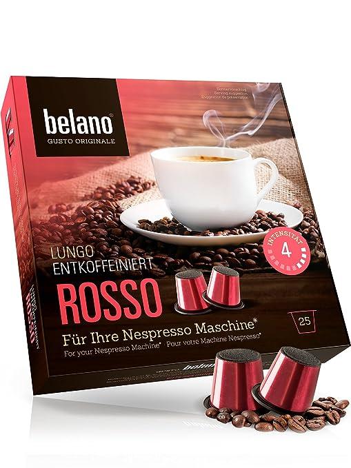 Belano 25x cápsulas de café compatibles con cafetera ...