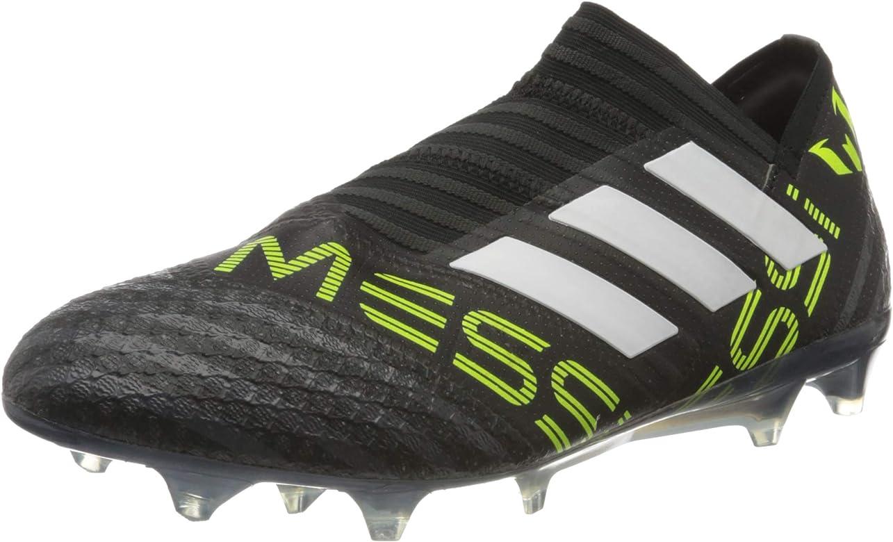 Inspector Consecutivo Antibióticos  adidas Nemeziz Messi 17+ 360 Agility FG, Bota de fútbol, Core  Black-White-Solar Yellow, Talla 10.5 UK (45 1/3 EU): Amazon.es: Zapatos y  complementos