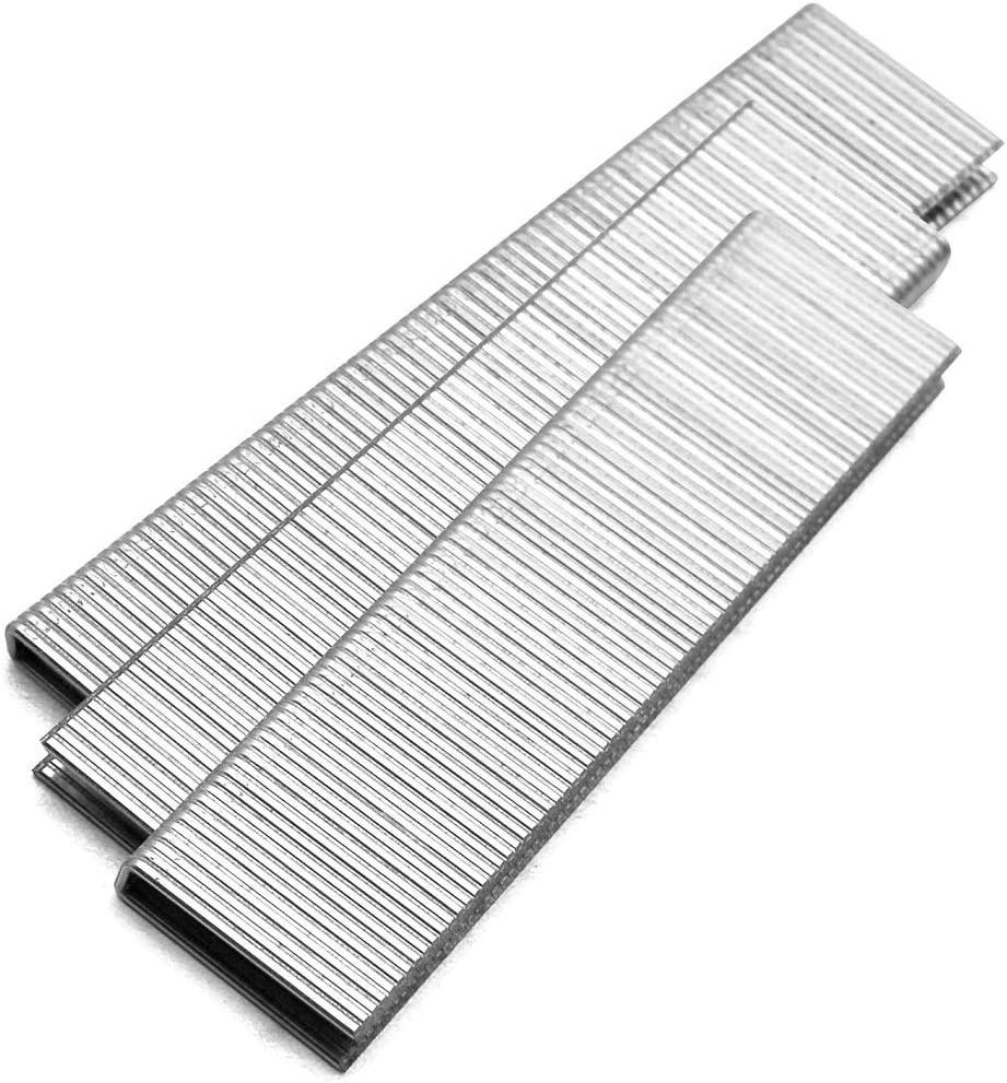 CASE 1-1//2-Inch meite 18 Gauge k Series or 90 Sereis 1//4-Inch Crown By Leg Length 1//2-Inch To 1-1//2-Inch Galvanized Fine Wire Staples Upholstery Staples 4000pcs//Box