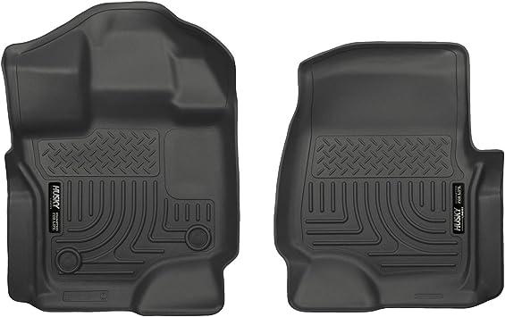 Husky Liners 18361 Weatherbeater Series Black Front Floor Liner