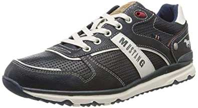 MUSTANG Men's 4095 317 820 Trainers: Amazon.co.uk: Shoes & Bags