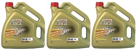 Castrol Edge Titanio 0W-40 A3/B4 FST Aceite sintético para Motor, 12