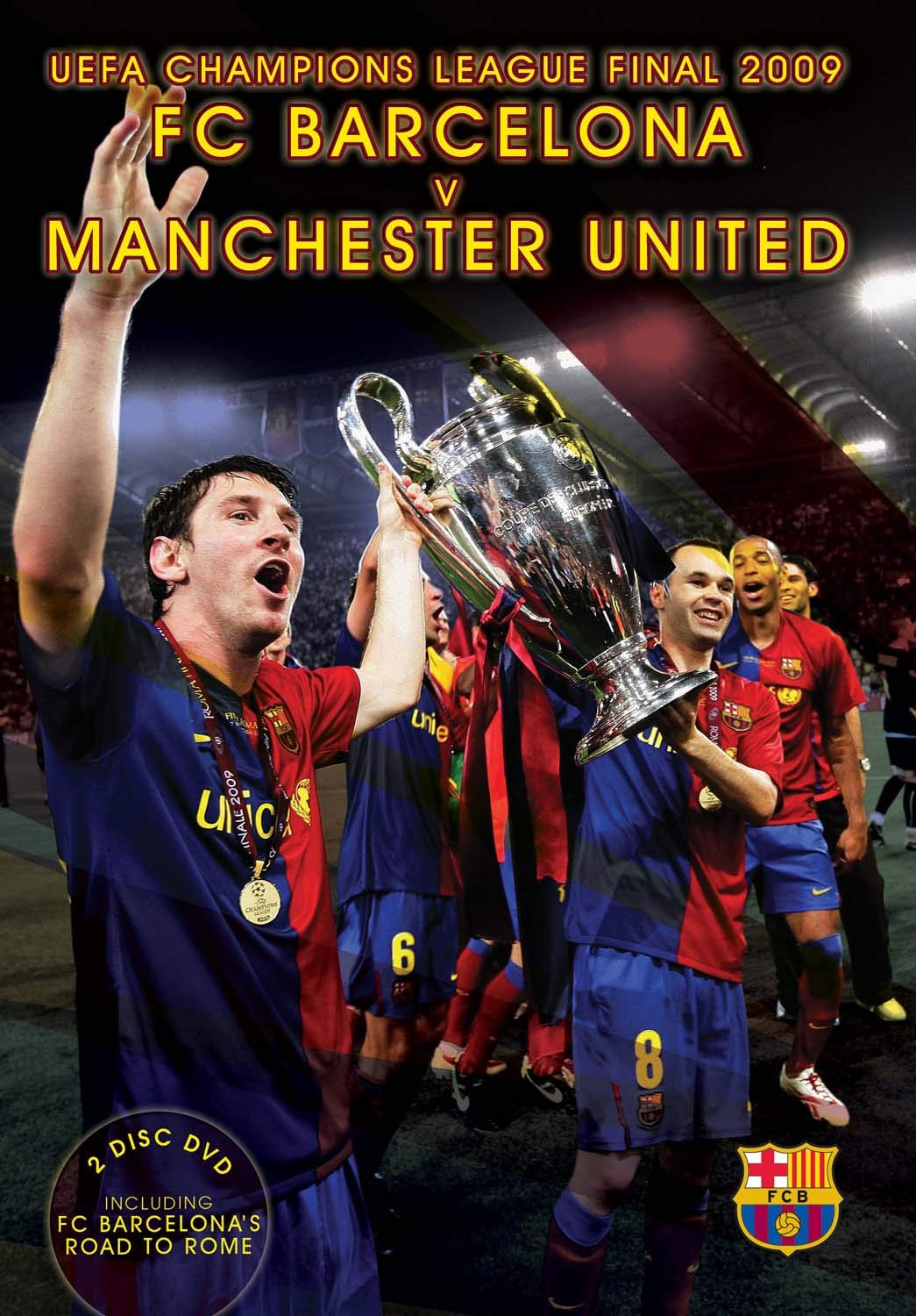 UEFA Champions League Final 2009: FC Barcelona v Manchester United ...