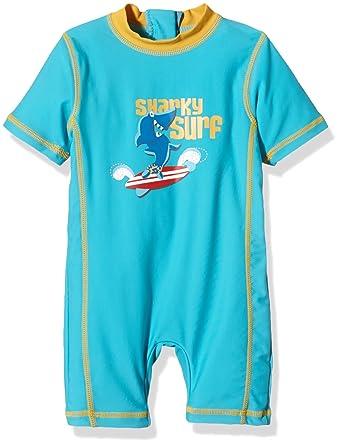 Aquatinto Baby Boys Swimming Costume Sharky Surf Uv 50