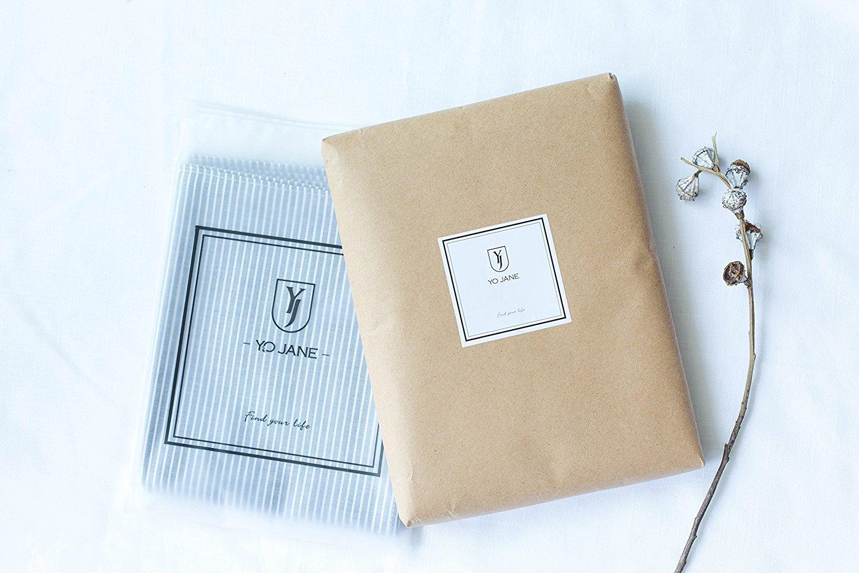 55 x 70-inch,Machine Washable,White/&Blue YO JANE Stripe Fabric Rectangle Tablecloth