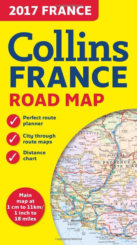 2017 Collins France Road Map Collins UK 9780008203603 Amazon