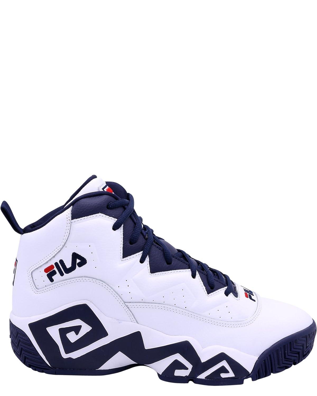 Fila Men's MB Heritage Sneaker B079H3N58D 12 D(M) US|White/Navy/Red