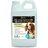 Branch Creek Entry Chloride-Free, Non- Toxic, Liquid Snow and Ice Melt Safer for Pets, Plants, Floors, Concrete, Sidewalks, and Metal for Residential or Commercial Use
