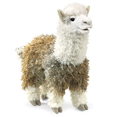 Folkmanis Alpaca Hand Puppet: Toys & Games