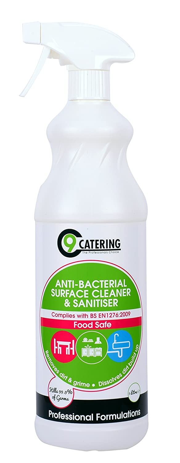 C 9 Catering Anti Bacterial Surface Cleaner and Sanitiser