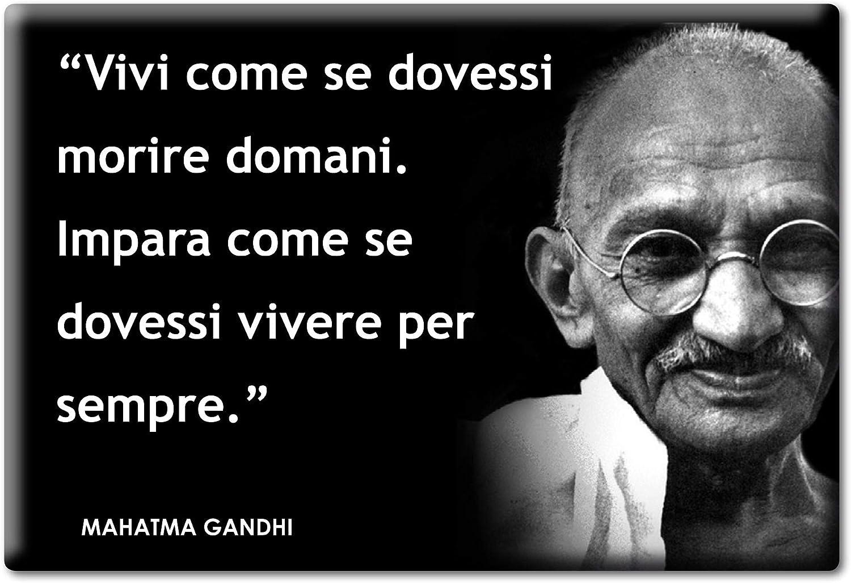 Frasi Matrimonio Gandhi.Enjoymagnets Mahatma Gandhi Calamita Magnete Aforismi Frasi