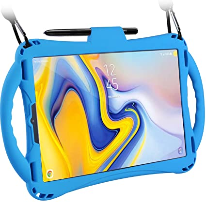 Samsung Galaxy Tab S4 10 5 Case for Kids, TopEsct Shockproof Handle Stand  Cover for Samsung Tab S4 10 5(2018) Model SM-T830/T835/T837, Built-in S Pen