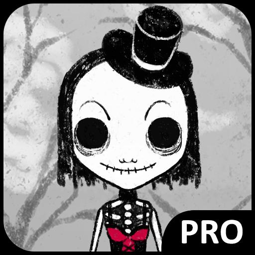 [Bones And Dresses] (Dark Skeleton Bride Child Costumes)