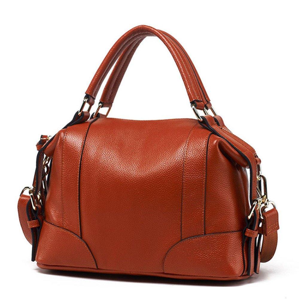 Frauen Handtaschen Damen Top-Handle PU Leder Schulter Tote Taschen Reißverschluss Schultasche Geldbörse