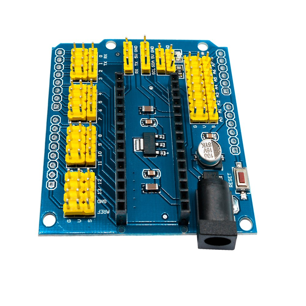 diymore 5pcs Nano Expansion Prototype Shield I//O Extension Board Module for Arduino Nano V3.0