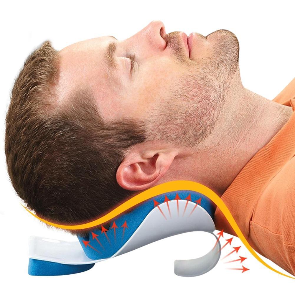 starter Entspannungskissen und Schulterst/ütze Relaxer Zervikale Schmerzlinderung Verspannungskissen Memory-Schwamm-Massage Traktionskissen Nacken
