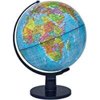 """Waypoint Geographic Scout Illuminated 12"""" Globe - Great Quality Globe For Kids & Teachers - More than 4, 000 name Places…"""