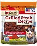 Top Chews Grilled Steak Recipe Strips 40 Oz (2.5 Lb)