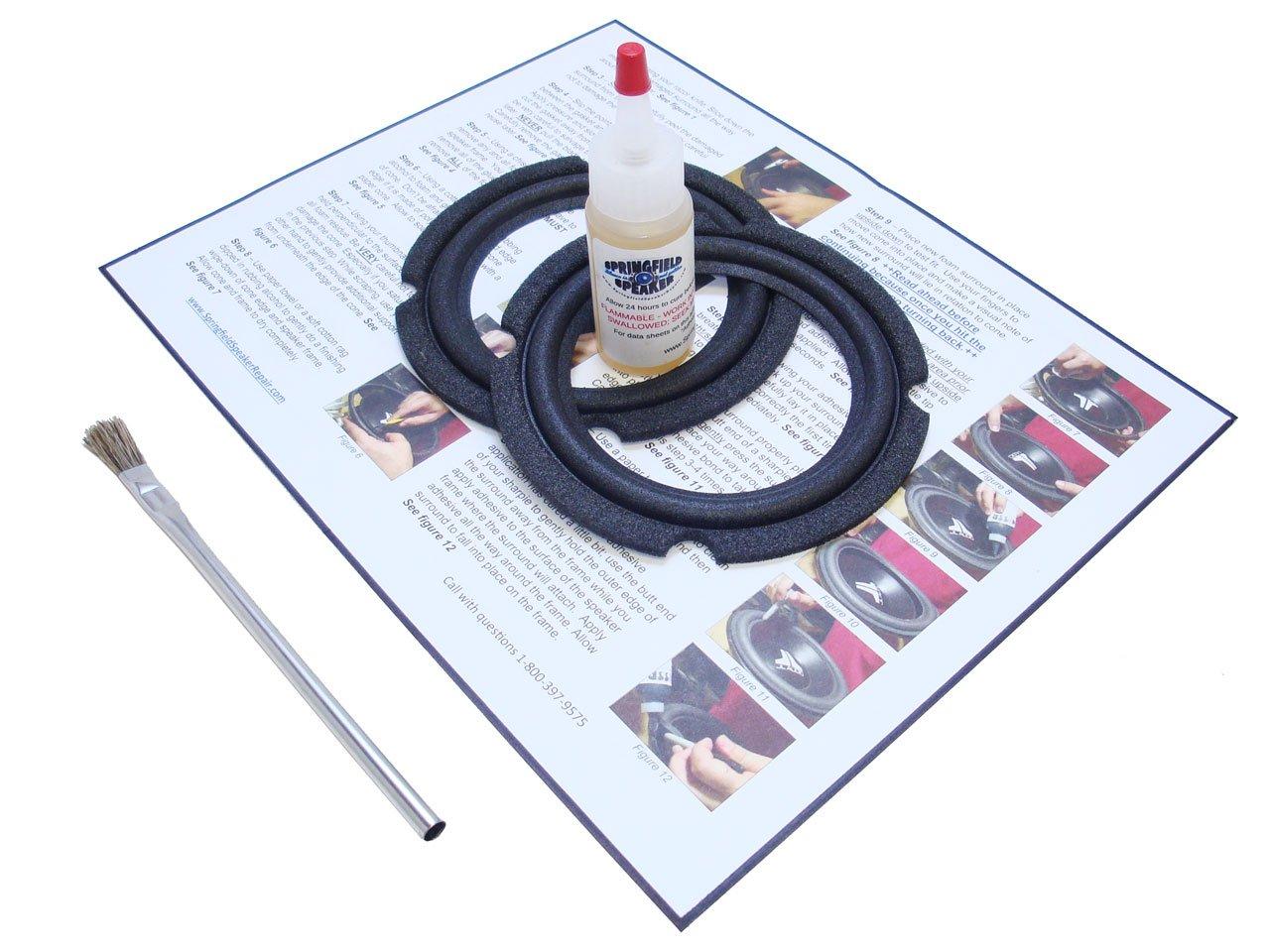 JBL 4.9'' Control 1 Speaker Foam Surround Repair Kit