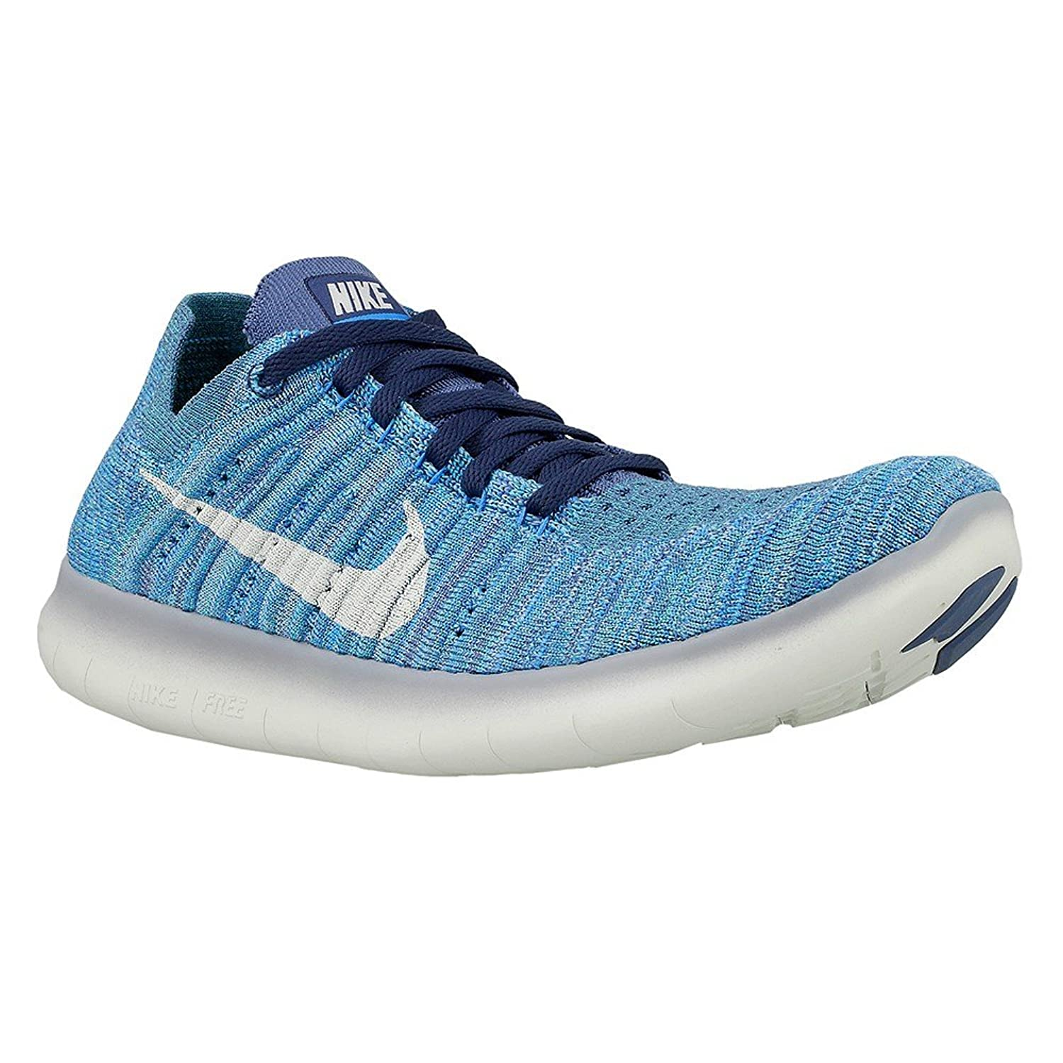 8020754d1aee1e Nike Women s Free Running Motion Flyknit Shoes Ocean Fog White blue Glow  9.5 B(M) US - rocket-league-community.de