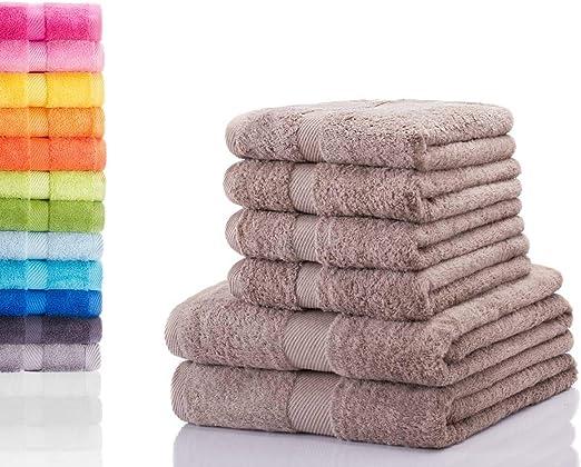Serviette duschtuch gästetuch seiftuch laver gant 100/% coton 500g//m²