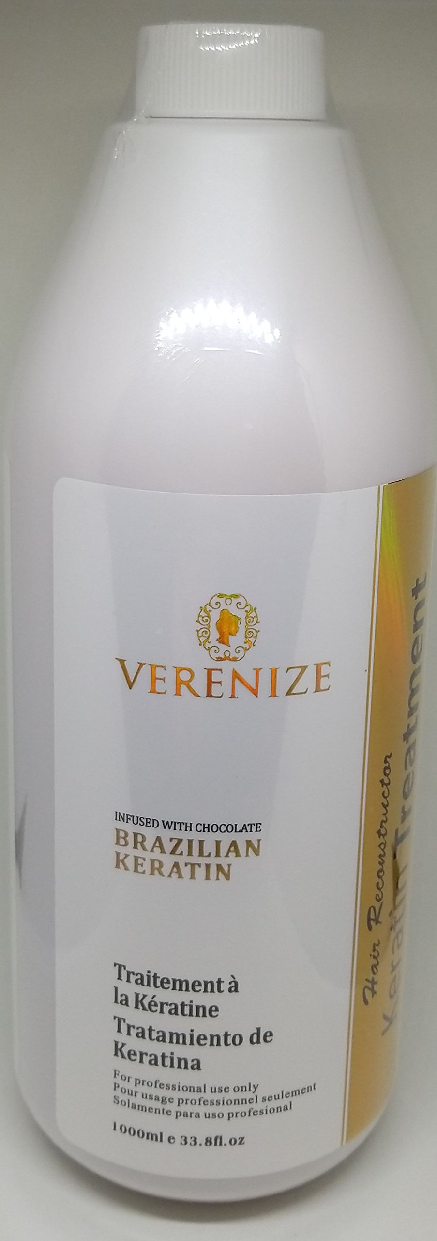 Brazilian Keratin Treatment, Hair Straightener, Brazilian Blowout. (Purifying Shampoo & Keratin Treatment x 1000 ml)