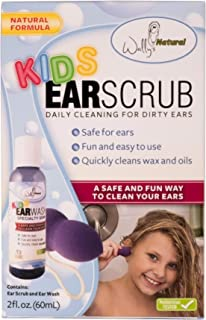 product image for Wally's Natural Kids Ear Scrub, Light, 2 Fluid Ounce