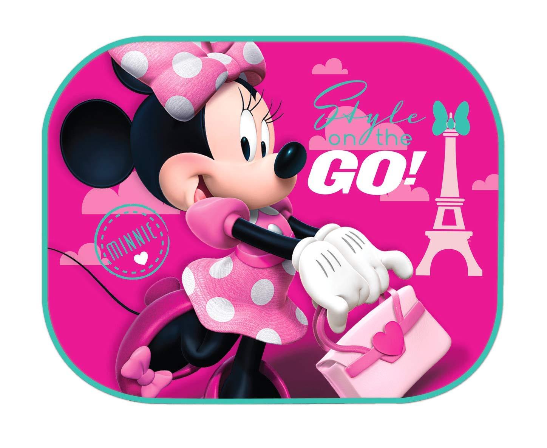 Theonoi 2 parasoles para Coche dise/ño de Minnie Mouse