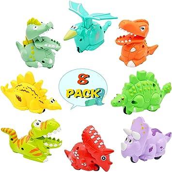 Amazon.com: Oppmart - Dinosaurios de juguete para niños ...