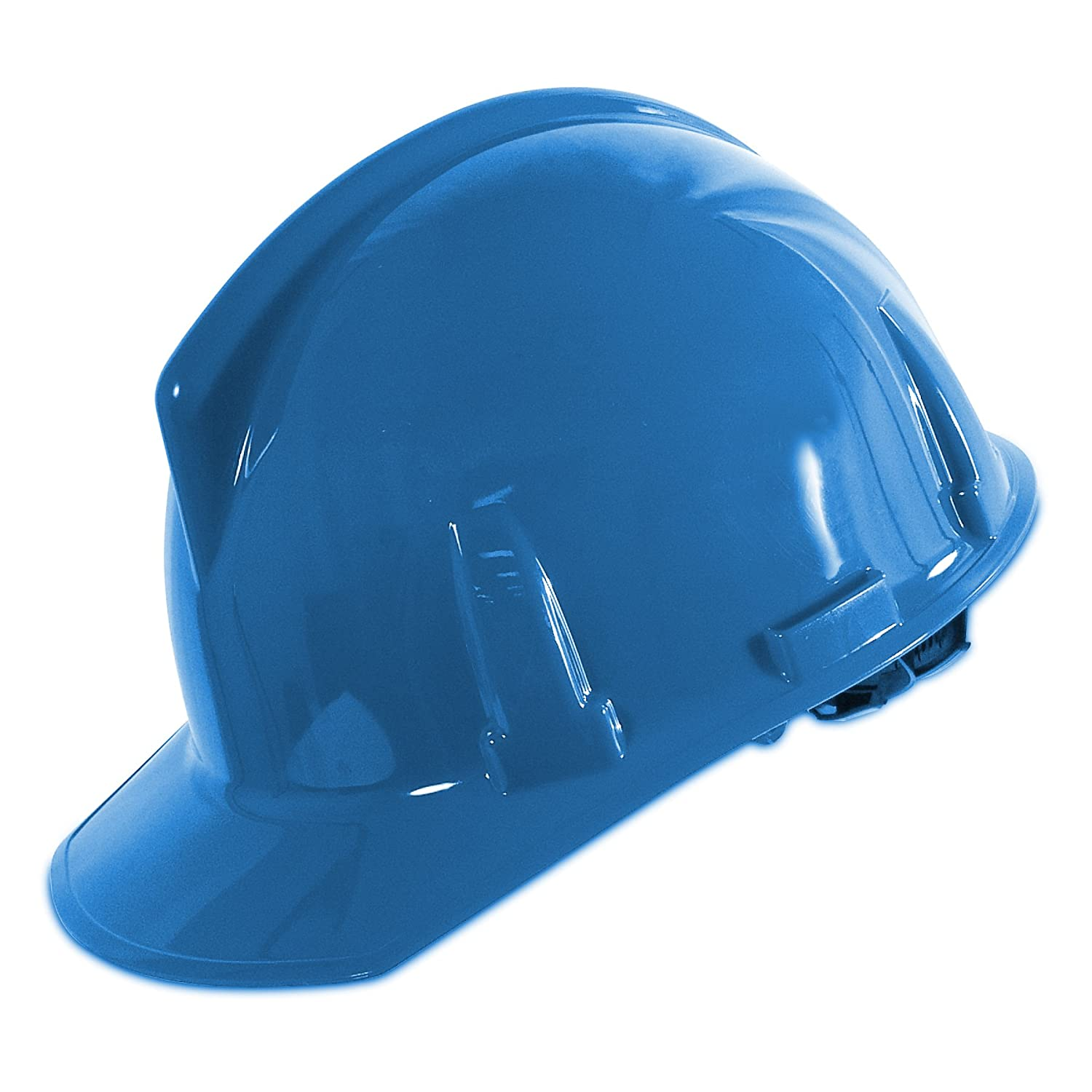 MSA Topgard Hard Hat w/ 1-Touch Suspension (Blue): Hardhats: Amazon ...