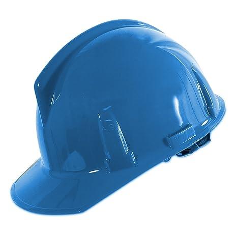 MSA topgard duro sombrero w/toque Suspensión, azul
