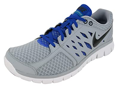 Nike New Flex 2013 Run Grey Blue Mens 7 83d75e31a8ae