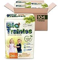 Bio Trainies Calzón Entrenador, Talla Mediana/2 Unisex, 104 Calzoncitos Desechables (4x26) (La imagen del empaque puede variar)
