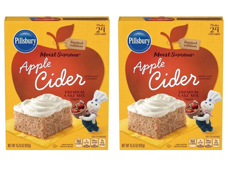 Amazon Com Pillsbury Moist Supreme Apple Cider Cake Mix 15 25 Oz