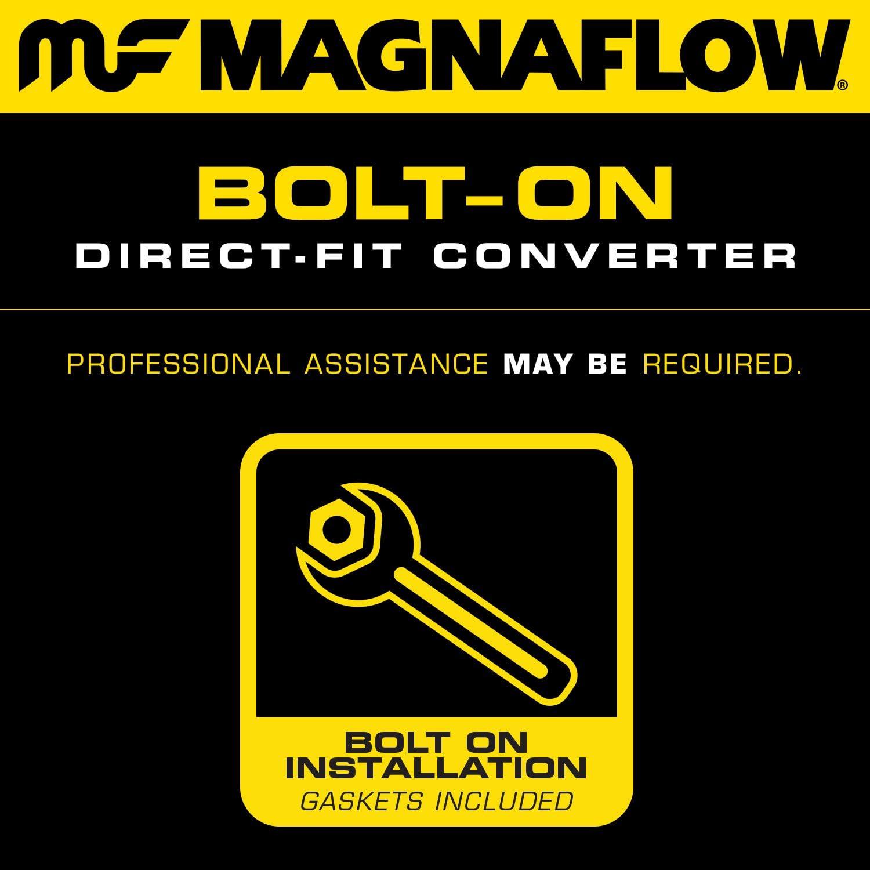 Non CARB compliant MagnaFlow 93601 Direct Fit Catalytic Converter