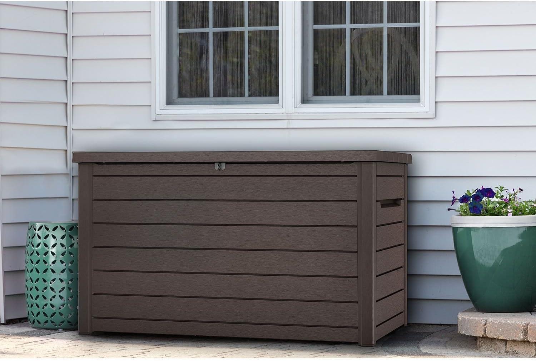 Amazon Com Keter Xxl 230 Gallon Plastic Deck Storage Container Box Outdoor Patio Garden Furniture 870 Liters