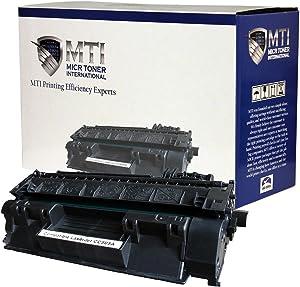MICR Toner International Compatible Magnetic Ink Cartridge Replacement for TROY 02-81500-001 HP CE505A 05A LaserJet P2035 P2035n P2055 P2055d P2055dn P2055x