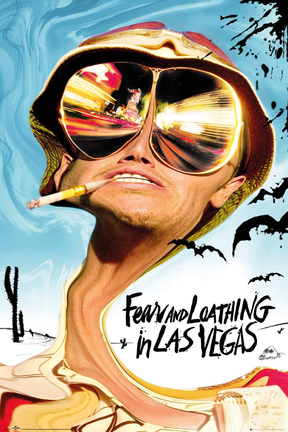 """Fear And Loathing In Las Vegas Movie Poster 24x36/"""""""