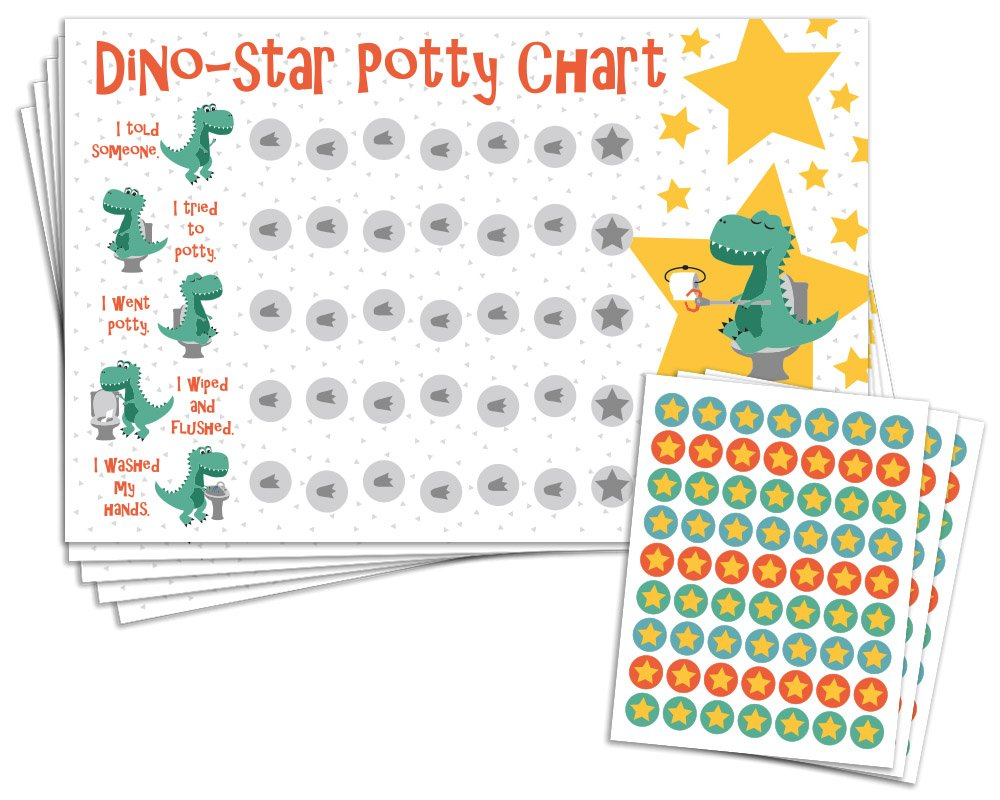 Amazon com potty training reward chart with 189 star stickers for