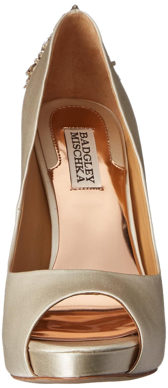 ac95dd6fb56f Amazon.com  Badgley Mischka Women s Kiara Platform Pump  Badgley Mischka   Shoes