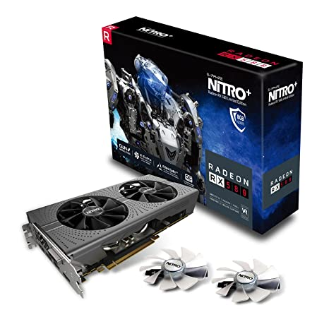 Sapphire Radeon RX 580 Nitro+ 8 GB GDDR5 - Tarjeta gráfica ...