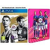 FIFA 19: Ultimate Edition + Steelbook   PS4 Download Code - deutsches Konto