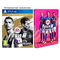 FIFA 19: Ultimate Edition + Steelbook | PS4 Download Code - deutsches Konto