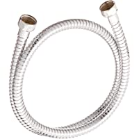 "Rohl C7096APC Country Bath Flexible Metal Decorative Hose Only 100cm Or 39 3/8"" Length 1/2 F X 1/2 F for A1401 A1901 A2101 A1701 & A2701 Wall Mounted Tub Shower"